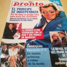 Coleccionismo de Revista Pronto: REVISTA PRONTO N° 1370 - 8/8/98 - EL PRNCIPE DE INDEPENDIZA. Lote 267526039