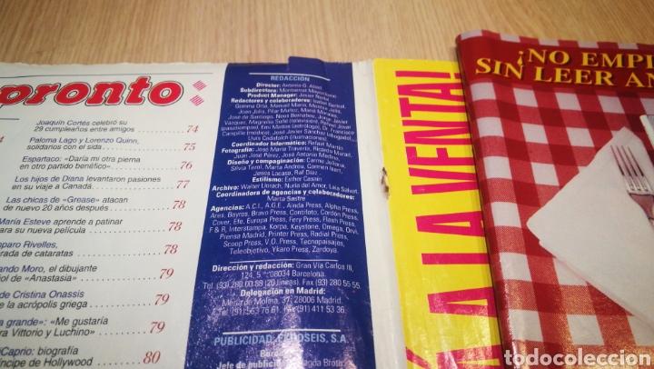Coleccionismo de Revista Pronto: REVISTA PRONTO N° 1352 - 4/4/98 - HABLA EL FIEL MAYORDOMO DE DIANA / LEONARDO DICAPRIO - Foto 2 - 267526229