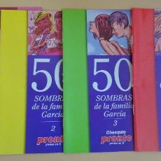 Coleccionismo de Revista Pronto: 50 SOMBRAS DE LA FAMILIA GARCÍA , 4 FASCICULOS , REVISTA PRONTO, VER FOTOS. Lote 268569794