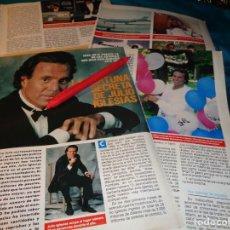 Coleccionismo de Revista Pronto: RECORTE : LA FORTUNA SECRETA DE JULIO IGLESIAS. PRONTO, ENERO 1989(#). Lote 268875184