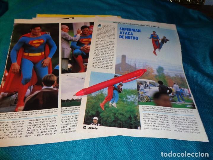 RECORTE : SUPERMAN ATACA DE NUEVO. PRONTO, NVMBRE 1986(#) (Papel - Revistas y Periódicos Modernos (a partir de 1.940) - Revista Pronto)