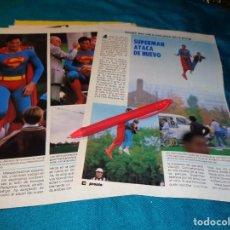 Coleccionismo de Revista Pronto: RECORTE : SUPERMAN ATACA DE NUEVO. PRONTO, NVMBRE 1986(#). Lote 268876024