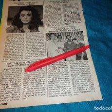 Coleccionismo de Revista Pronto: RECORTE : EL NUEVO UN, DOS, TRES..... PRONTO, NVMBRE 1986(#). Lote 268876194