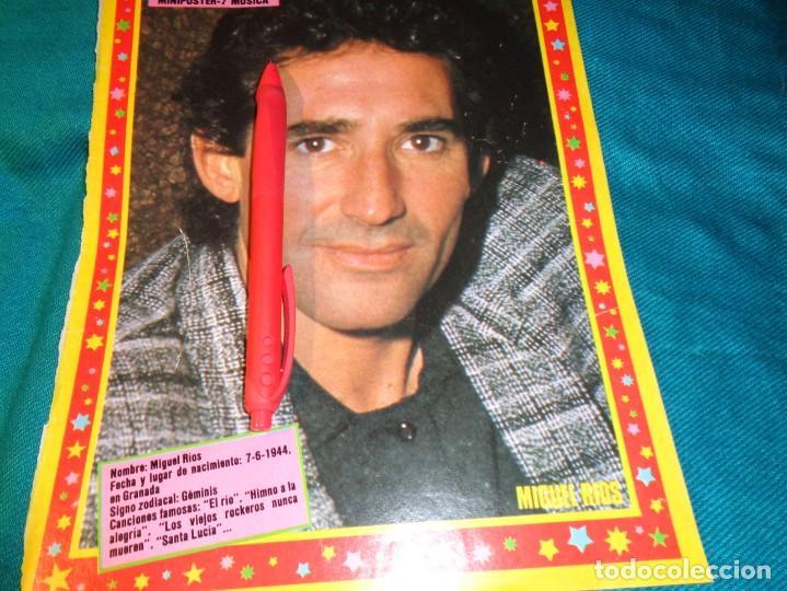 RECORTE : MINI POSTER : MIGUEL RIOS. PRONTO, NVMBRE 1986(#) (Papel - Revistas y Periódicos Modernos (a partir de 1.940) - Revista Pronto)