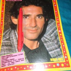 Coleccionismo de Revista Pronto: RECORTE : MINI POSTER : MIGUEL RIOS. PRONTO, NVMBRE 1986(#). Lote 268876324
