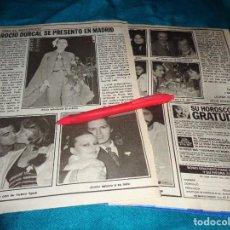 Coleccionismo de Revista Pronto: RECORTE : ROCIO DURCAL, SE PRESENTA EN MADRID. PRONTO, NVMBRE 1979(#). Lote 269035219