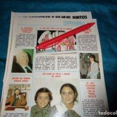 Coleccionismo de Revista Pronto: RECORTE : EL UN, DOS, TRES....SE FUE DE CABARET. PRONTO, DCMBRE 1982 (#). Lote 269629938