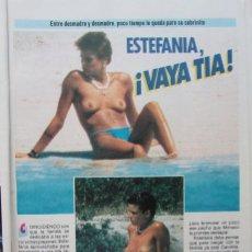Coleccionismo de Revista Pronto: RECORTE REVISTA PRONTO N.º 697 1985 ESTEFANÍA DE MÓNACO, RAINIERO GRIMALDI. MARISA ABAD. Lote 270545483
