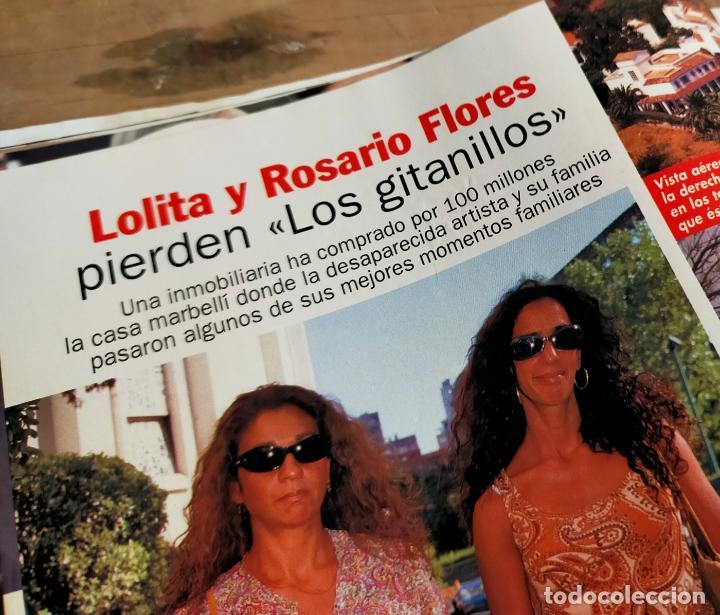 Coleccionismo de Revista Pronto: PRONTO 1516 - 2001 - ADOLFO SUÁREZ- - PACO RABAL - LOLITA Y ROSARIO FLORS - Y MAS - Foto 5 - 272012583
