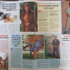 Coleccionismo de Revista Pronto: RECORTE REVISTA PRONTO N.º 1330 1997 MASSIEL, SILVIA TORTOSA, JOSEMA YUSTE. Lote 276053143