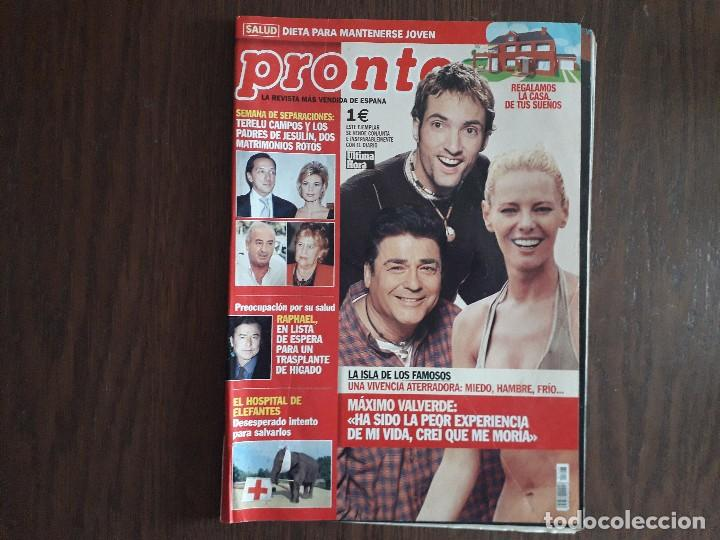 REVISTA PRONTO, NÚMERO 1606, 15-02-2003 (Papel - Revistas y Periódicos Modernos (a partir de 1.940) - Revista Pronto)