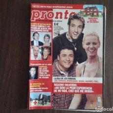 Coleccionismo de Revista Pronto: REVISTA PRONTO, NÚMERO 1606, 15-02-2003. Lote 276090893