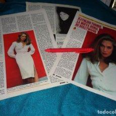 Coleccionismo de Revista Pronto: RECORTE : KATHLEEN TURNER, LA NUEVA REINA DE HOLLYWOOD. PRONTO, AGTO 1986(#). Lote 277561398