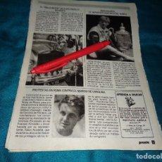 Coleccionismo de Revista Pronto: RECORTE : EL ROLLS-ROYCE DE ELVIS PRESLEY, EN VENTA. PRONTO, SPTMBRE 1986(#). Lote 277561883