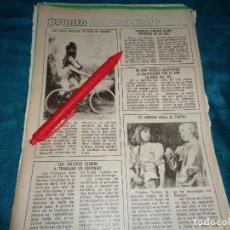 Coleccionismo de Revista Pronto: RECORTE : LAS FOTOS EROTICAS DE MARILYN MONROE. PRONTO, ABRIL 1984 (#). Lote 277689988