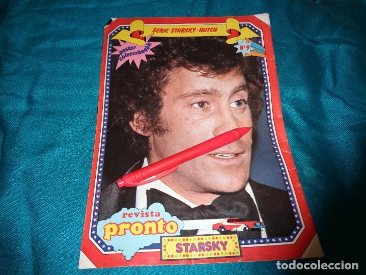 RECORTE : MINI POSTER : STARSKY, DE LA SERIE STARSKY Y HUTCH. PRONTO, OCTBRE 1978 (#) (Papel - Revistas y Periódicos Modernos (a partir de 1.940) - Revista Pronto)