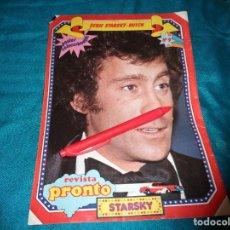 Coleccionismo de Revista Pronto: RECORTE : MINI POSTER : STARSKY, DE LA SERIE STARSKY Y HUTCH. PRONTO, OCTBRE 1978 (#). Lote 277691403