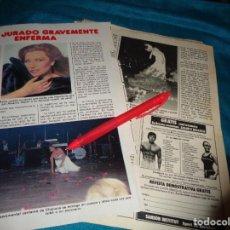 Colecionismo da Revista Pronto: RECORTE : ROCIO JURADO, GRAVEMENTE ENFERMA. PRONTO, MARZO 1982 (#). Lote 280784623