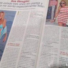 Coleccionismo de Revista Pronto: REVISTA PRONTO AÑO 2011 ANA OBREGÓN, VIDA INTERESANTE CAMILO SESTO. Lote 286912403