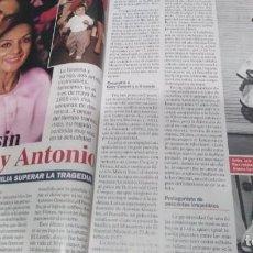 Coleccionismo de Revista Pronto: REVISTA PRONTO AÑO 2020 25 ANIVERSARIO MUERTE LOLA FLORES Y ANTONIO FLORES. Lote 286912443