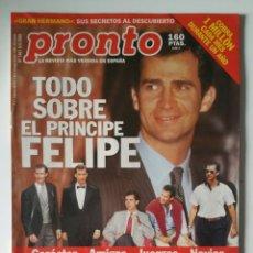 Coleccionismo de Revista Pronto: REVISTA PRONTO, N. 1461. ( PEDIDO MÍNIMO 5€ ).. Lote 287421293