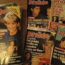 Coleccionismo de Revista Pronto: LOTE 31 REVISTAS DE PRONTO AÑO 1998. Lote 287630073