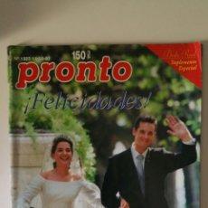 Coleccionismo de Revista Pronto: REVISTA PRONTO, N. 1327.. Lote 288017638
