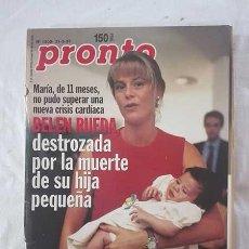 Coleccionismo de Revista Pronto: REVISTA PRONTO. 31 DE MAYO DE 1995.. Lote 288412533
