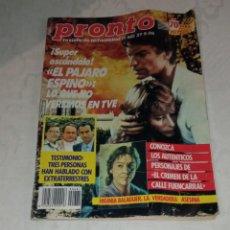 Coleccionismo de Revista Pronto: PRONTO NÚM 681.. Lote 294122278