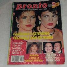 Coleccionismo de Revista Pronto: PRONTO NÚM 682.. Lote 294122698