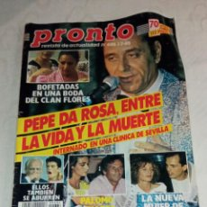 Coleccionismo de Revista Pronto: PRONTO NÚM 686.. Lote 294123098