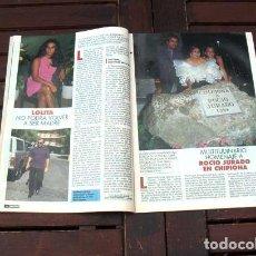 Coleccionismo de Revista Pronto: REVISTA PRONTO / ROCIO JURADO, JANE SEYMOUR, BEATRIZ CARVAJAL, TOM HANKS. Lote 295786768