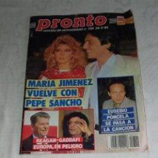 Coleccionismo de Revista Pronto: PRONTO NÚM 729.. Lote 295832993