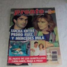 Coleccionismo de Revista Pronto: PRONTO NÚM 735.. Lote 295836028