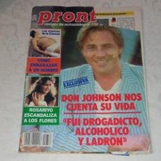 Coleccionismo de Revista Pronto: PRONTO NÚM 736.. Lote 295889858