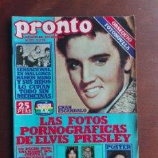 Coleccionismo de Revista Pronto: REVISTA PRONTO Nº 352 – 5-2-79 – ELVIS PRESLEY – KATE JACKSON – POSTER JACKLYN SMITH. Lote 296827123
