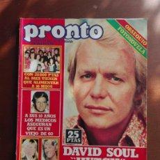 Coleccionismo de Revista Pronto: REVISTA PRONTO Nº 362 – 16-4-79 – DAVID SOUL – OLIVIA NEWTON JOHN – POSTER SUPERMAN. Lote 296837653