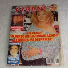 Coleccionismo de Revista Pronto: PRONTO NÚM 773 + POSTER CONNIE SELLECA + COLECCIONABLES.. Lote 297263343