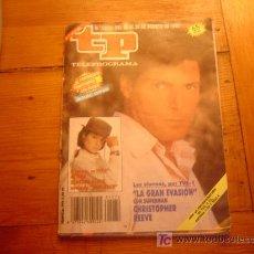 Coleccionismo de Revista Teleprograma: REVISTA TP.. Lote 20988450