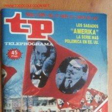 Coleccionismo de Revista Teleprograma: TELEPROGRAMA Nº 1099 - DEL 27 ABRIL AL 3 MAYO DE 1987. Lote 17126999