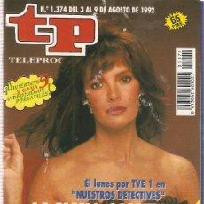 Coleccionismo de Revista Teleprograma: REVISTA TELEPROGRAMA Nº 1374 NUESTRO DETECTIVES. Lote 36998074
