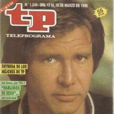 Coleccionismo de Revista Teleprograma: REVISTA TELEPROGRAMA Nº 11249 HARRISON FORD. Lote 36998109