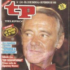 Coleccionismo de Revista Teleprograma: REVISTA TELEPROGRAMA Nº1243 JACK LEMMON. Lote 36998117