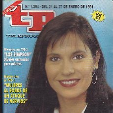 Coleccionismo de Revista Teleprograma: REVISTA TELEPROGRAMA Nº 1294 CONCHA GARCIA CAMPOY. Lote 37248042
