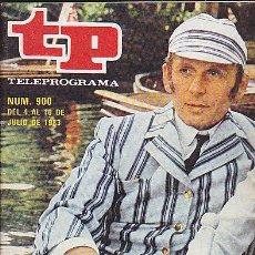 Coleccionismo de Revista Teleprograma: REVISTA TELEPROGRAMA Nº 900 CRIBB UN NUEVO DETECTIVE. Lote 37248760