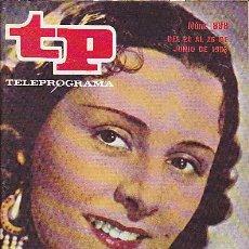 Coleccionismo de Revista Teleprograma: REVISTA TELEPROGRAMA Nº 898 IMPERIO ARGENTINA . Lote 37248777