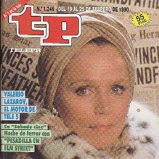 Coleccionismo de Revista Teleprograma: REVISTA TELEPROGRAMA Nº 1246 LEE REMICK. Lote 37310794