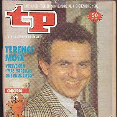 Coleccionismo de Revista Teleprograma: REVISTA TELEPROGRAMA Nº 1182 TERENCI MOIX. Lote 37312663