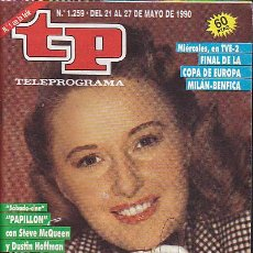 Coleccionismo de Revista Teleprograma: REVISTA TELEPROGRAMA Nº 1259 BARBARA STANWYCK. Lote 37312817