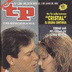 Coleccionismo de Revista Teleprograma: REVISTA TELEPROGRAMA Nº 1260 SERIE CRISTAL . Lote 37312827